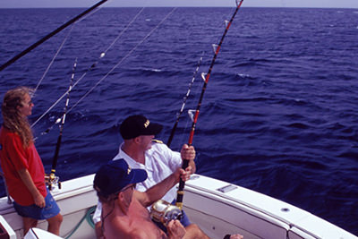Fishing in Little Cayman
