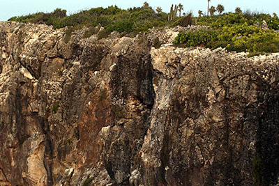 The 'Bluff' on Cayman Brac