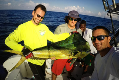 Fishing in the Cayman Islands